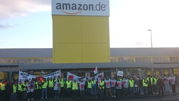 Streik bei Amazon in Koblenz