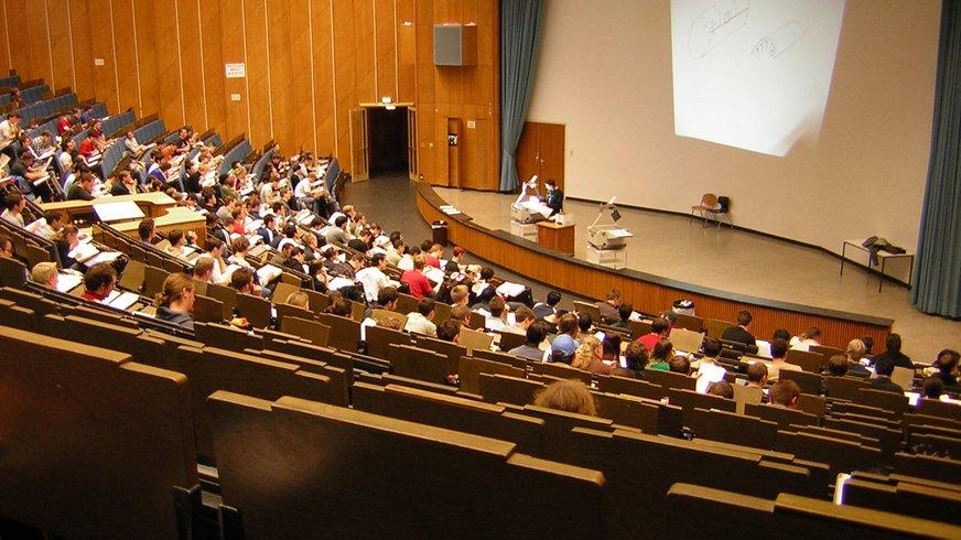 Studenten bei der Vorlesung
