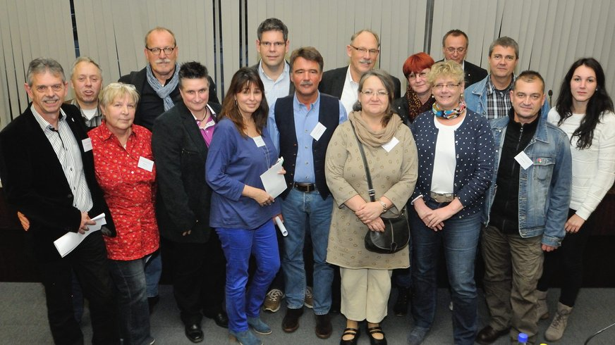 Der neue Vorstand des Fachbereichs 07 Gemeinden