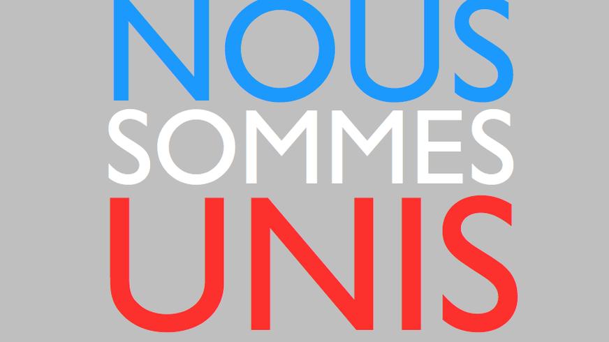 In Solidarität mit Frankreich gegen den Terror