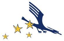 Kranich-im-Sturzflug-Logo
