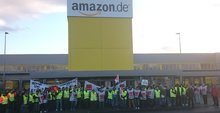 Streik bei Amazon in Koblenz