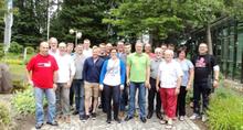 Die Teilnehmer der Landesfachgruppe Feuerwehr beim Seminar in Kirkel