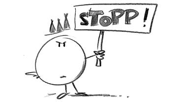 Stop! Stopp! Stoppschild
