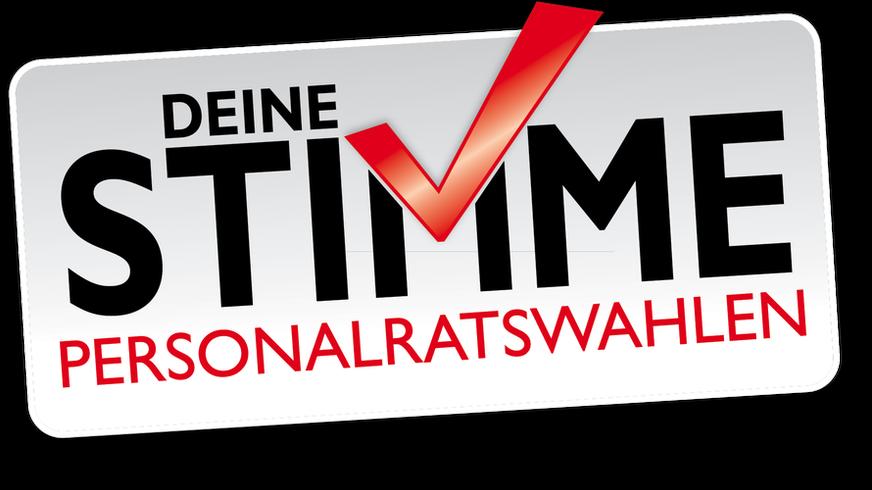 Logo der Personalratswahlen