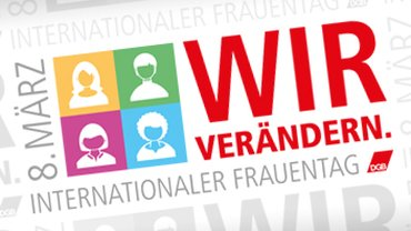 Banner internationaler Frauentag 2017