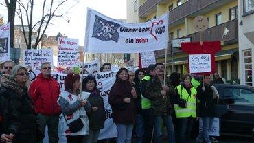Auch die Kollegen der AWO können streiken