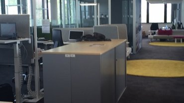 Besuch des Telekom Konzernhauses in Hamburg Überseering