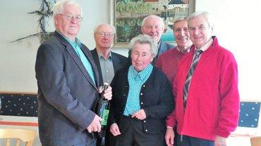 Hans Dagner feiert 80. Geburtstag