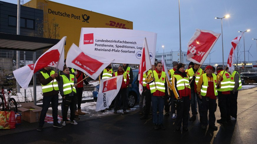 Warnstreik Delivery Mainz