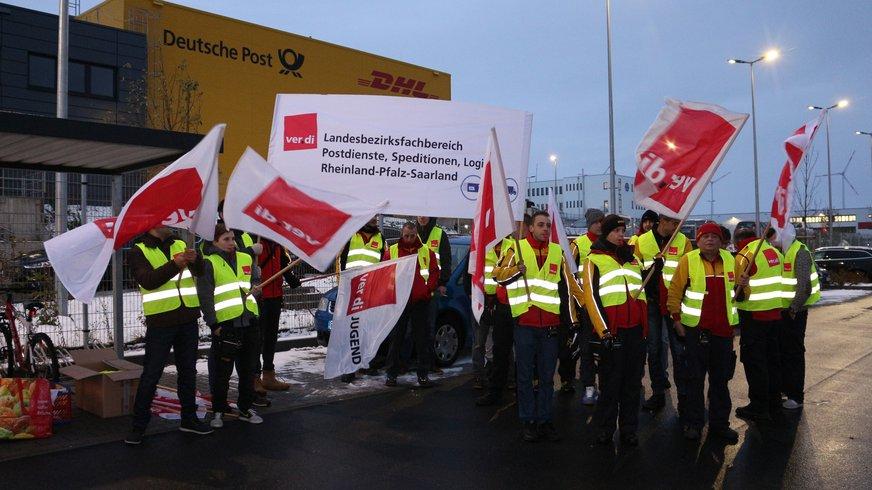Warnstreik Delivery Mainz