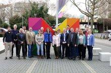 Gruppenbild der Delegation