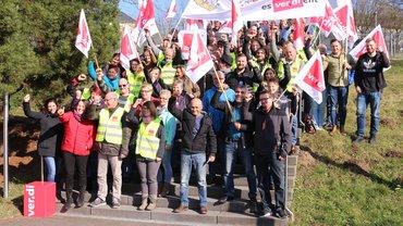 Die Vertrauensleute der Betriebsgruppen Trier und Koblenz