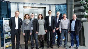 Gruppenfoto der Delegation