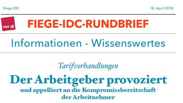 Fiege-IDC-Rundbrief