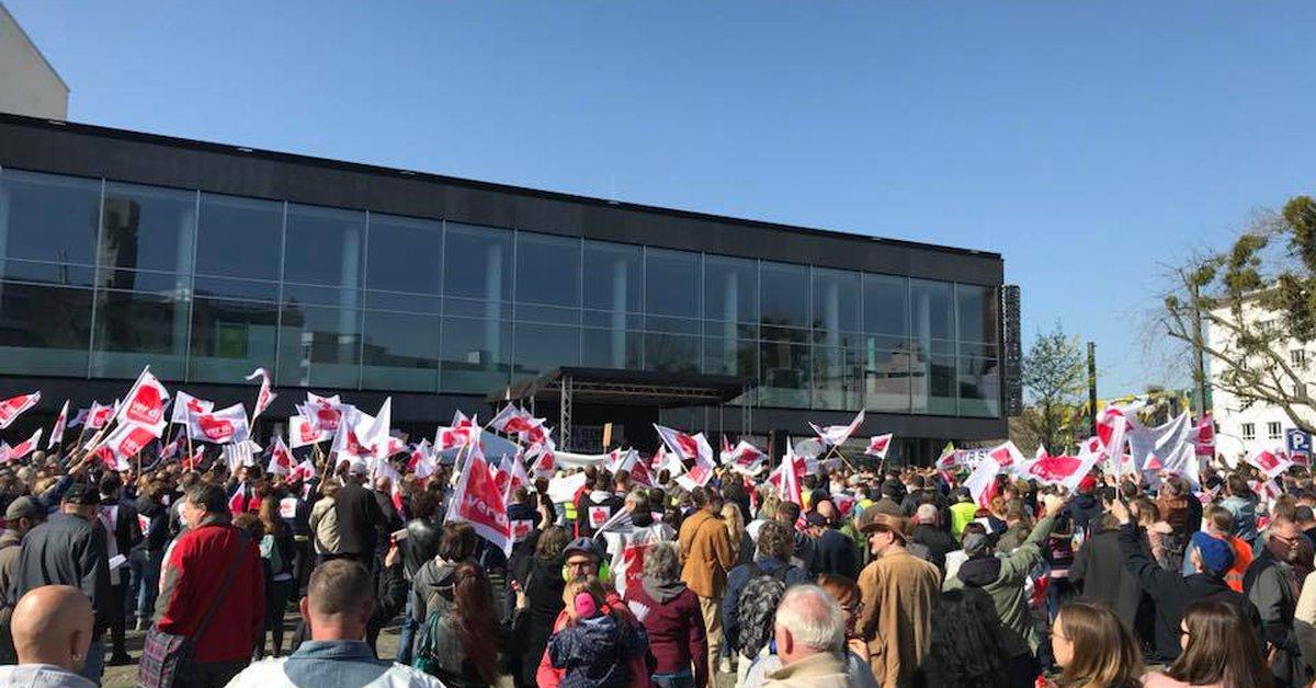 Streik Ludwigshafen