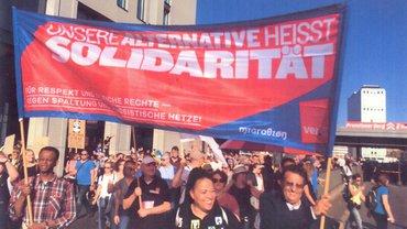 Bild von Demo in Berlin