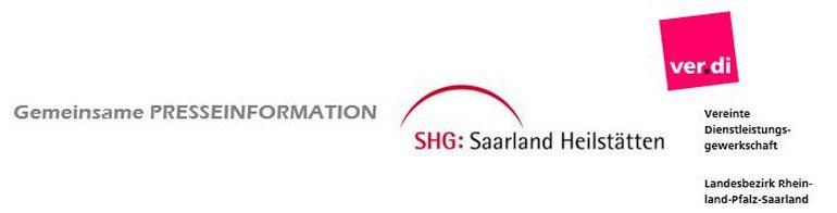 Logo der SHG Gruppe und ver.di