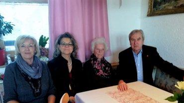 Rosalinde Richtmann feierte ihren 90. Geburtstag.