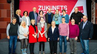 Bild des neugewählten Bundesfachgruppenvorsstandes 2019