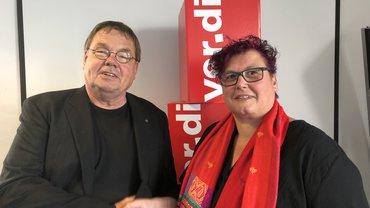 Die Präsidentin des Pflegebeirates von ver.di: Silke Präfke