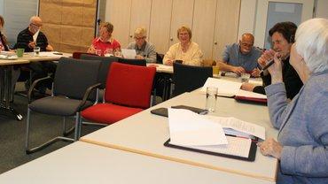 Der Bezirksseniorenausschuss Pfalz diskutiert über das Kommunikationskonzepts für die Zielgruppe der rentennahen Jahrgänge.