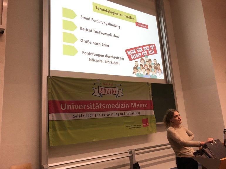 Die Teamdelegiertenkonferenz der UMM am 10.10.19