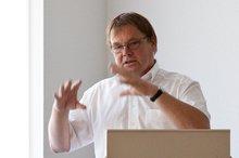 Der Pflegebeauftragte von ver.di Michael Quetting