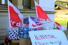 Der Nikolaus besuchte den Saarländischen Landtag