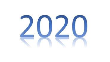Schriftzug 2020