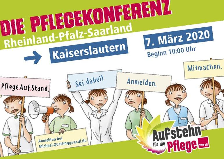 Postkarte zur Pflegekonferenz