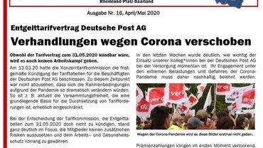 psl Aktuell, Ausgabe 16