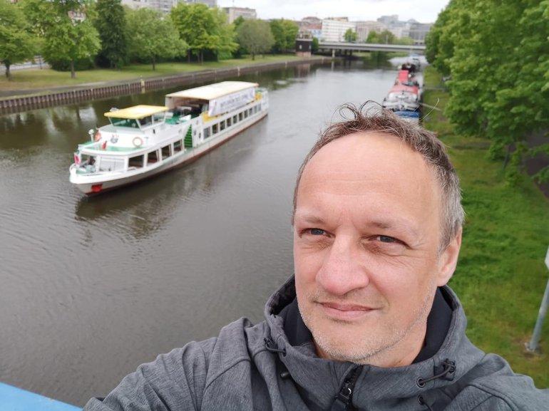 Schiff am 1. Mai