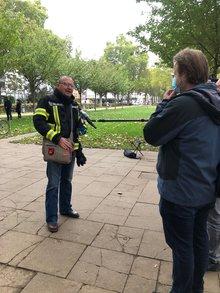 Ullrich (Uli) Bohland im Gespräch mit SWR aktuell