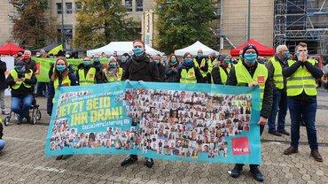 Jetzt seid Ihr dran! Streiktag am 15.10.2020 in Düsseldorf