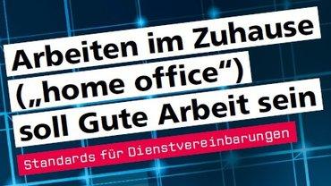 """Titelbanner der Umsetzungshilfe """"Arbeiten im Zuhause"""""""