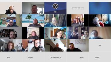 Virtuelles Treffen der VL der BeG Brief Mainz