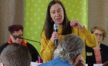 Susanne Pleines von der UMM ist auch Mitglied im ver.di-Pflegebeirat Rheinland-Pfalz-Saarland
