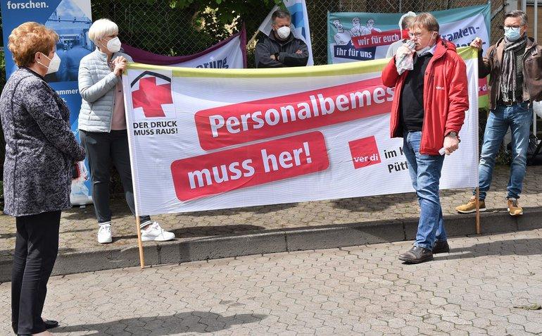 Aktion in Saarbrücken