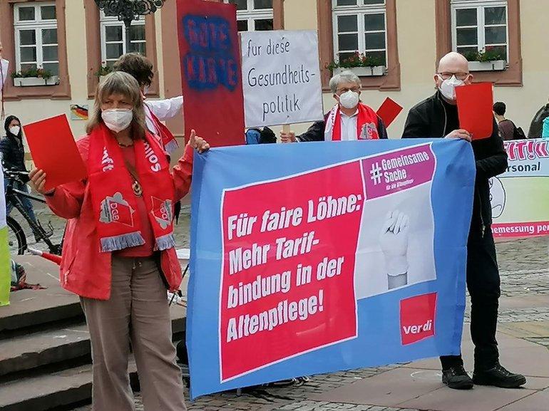 Kundgebung in Neustadt am 12.5.21