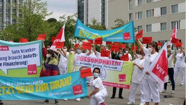 Aktion an der BGU Ludwigshafen