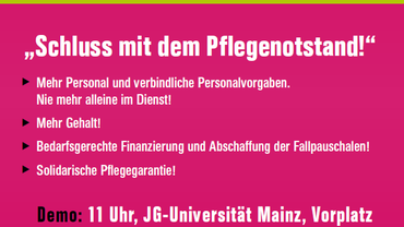 Pflegedemo in Mainz