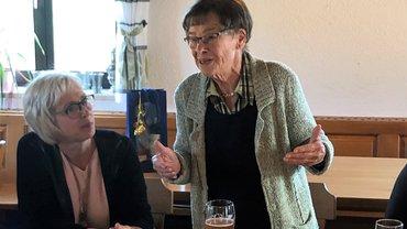 Ulla Albert wurde 80 Jahre